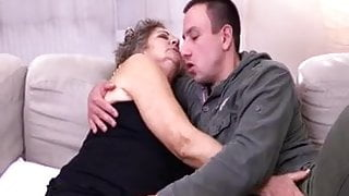 Granny Fucked By A Younger Man