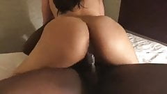 Big Booty Asian Gets Blacked