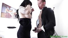 pervert milf Johnny Goodluck JOHNNYGOODLUCK Goth Daven Star Gives Head Before Riding Hard horny