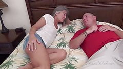 Petite Milf Cheats on Hubby with her Friend