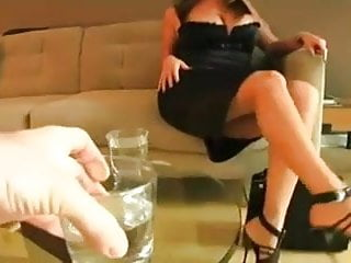 Bimetal strip Busty mother strips for not her son and fucks him
