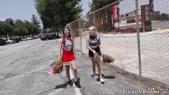 American teen girls go black