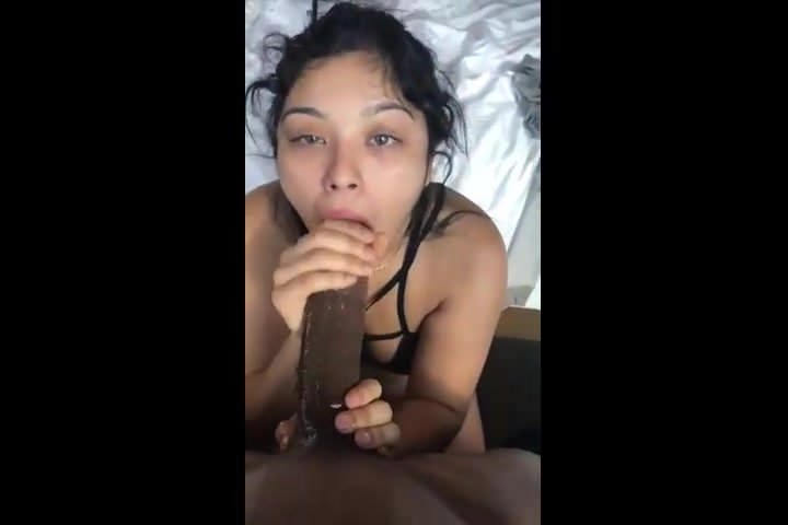 Latina Bbc Sloppy Blowjob