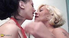Mature lesbian fetish foot
