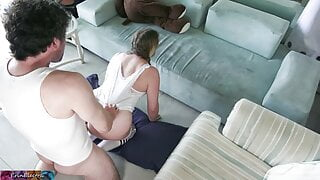 Stepsister needs stepbrother's cock to help her learn anal