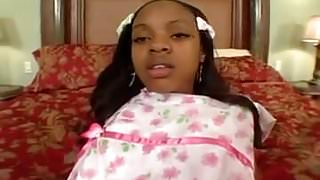 This is how a young black girl should be fucked