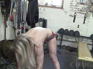 Older mature woman groped Mature claire gets some pov groping in the gym