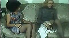 Vintage BDSM - Master & Mistress Tortures Slavegirl