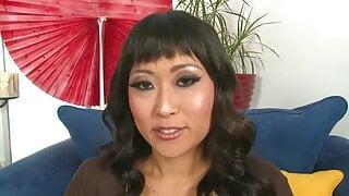 Asian Interracial Deepthroat BBC