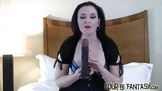 You are going to suck his cock and swallow his cum