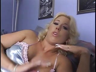 Both cock fucking hole vibrator Horny blond gets both fuck holes cock filled