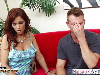 Syren the pornstar - Busty brunette cougar syren de mer take cock