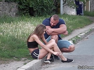 Master maledom cunt Petite teen roughfucked by maledom master
