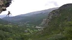 Fucking on high mountain