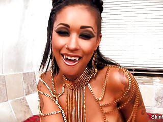 Sexy tropical theme bedroom Queen of the damned themed fucking with skin diamond