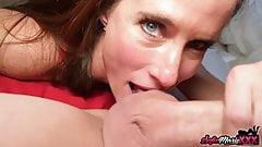 Outstanding Ft MILF Sofie Marie Sucks Huge Dick In POV