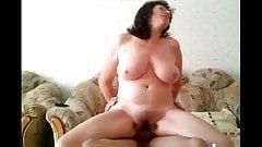 Mature with big tits Brunette Stuffed
