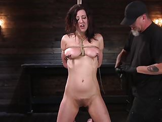 Corporal erotic punishment Pain slut cherry torn submits to corporal punishment and rop