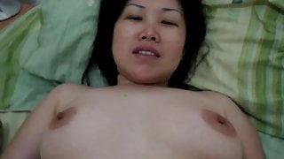Horny Chinese wife fucks great