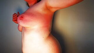 Tit punishment - her tits will hurt a whole week