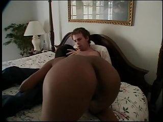 Fat guy blow job Curvy chocolate beauty gives white guy a blow job then fucks