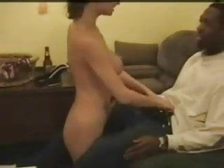 Man sucking woman boob White woman sucks, fucks swallows black man