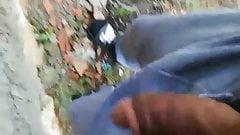 Flash dick arab street pissing