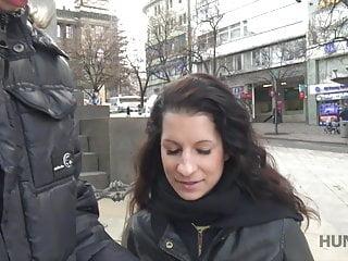 Grumpy dick restaurant - Cameraman fucks comely brunette next to her grumpy cuckold