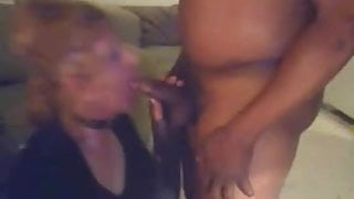 Making tenant suck my cock to keep a secret