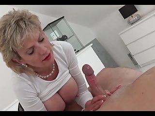 Mature ladies handjobs Mature lady wanking cocks