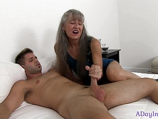 The best way to enlarge the penis - Mom teaches me the best way to stroke : a sneak peek