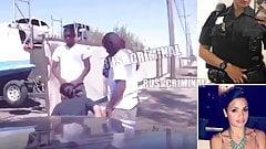Policewoman forced to suck gangsta