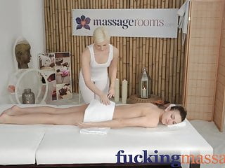 Women have better orgasm Massage rooms two beautiful lesbians have intense orgasms