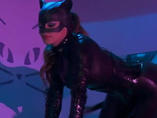 Fetish medical experiment Catwoman and her friend love to experiment with cock and get plenty of pleasure