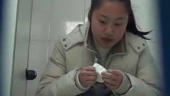 Chinese toilet peeing 1