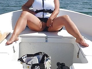 Homemade sex video board Flashing pussy on board.