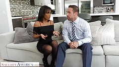 Naughty America Demi Sutra Fucks her dad's employee