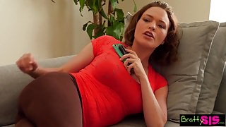 Bratty Sis - Sister Wants My Cock While Step Mom Is Near! S2:E11