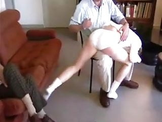 Bondage slave positions - Enf spanking two old men spanking wife humiliating positions
