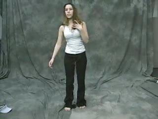 Billi amateur facials Girl stripping - billy