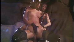 Black Stockings and Boots WANDA CURTIS & ZITA Threesome