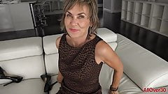 55 year old mature slut gets fucked up the ass