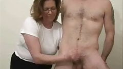 amateur mature jerking