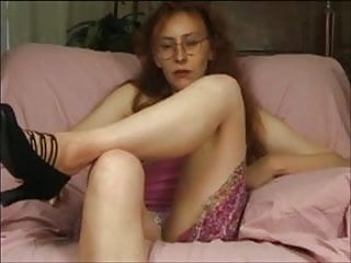 Breasts in lunette - Casting carole 29 ans rousse a lunette