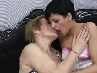 New lesbian licking - Granny and young lesbian licking pussy and ass