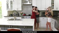 Bully stepbrother fucks cute stepsister