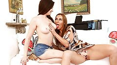 Sexy MILF Tanya Tate Teaches The Art Of  Clitoral Orgasm