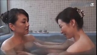 JAPANESE MATURES BATH