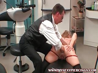 Shocked pussy bdsm torture - My sexy piercings slave with pierced pussy bdsm torture