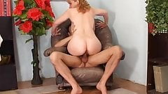 Amateur Hairy Lady Fuck On Armchair - LostFucker